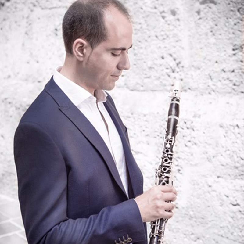 Dario Zingales clarinet